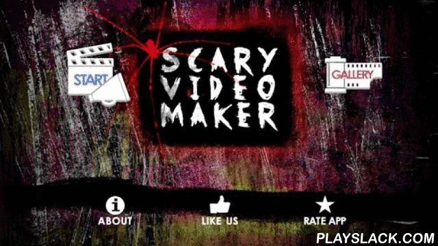 """Scary Video Maker  Android App - playslack.com , Do you remember legendary """"Scary Ghost Car"""" video? Now you can do your own movies like that ;) Just install Scary Video Maker and:- choose monster you like (from effects),- choose frame,- ... and finally - show your friends the result ;) They will be scared to death!The application firstly show normal viedo, movie and then the monster pops up and starts terrible screaming and shouting. Remember to turn on your speakers. Volume it up!It is…"""