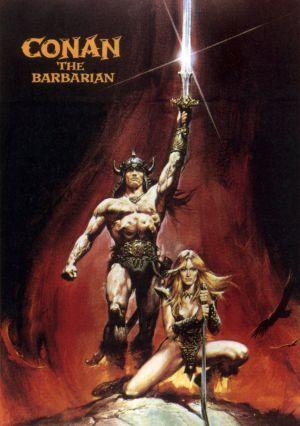 Conan le barbare/Conan the barbarian poster