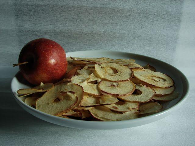 Vaníliás alma- és körtechips