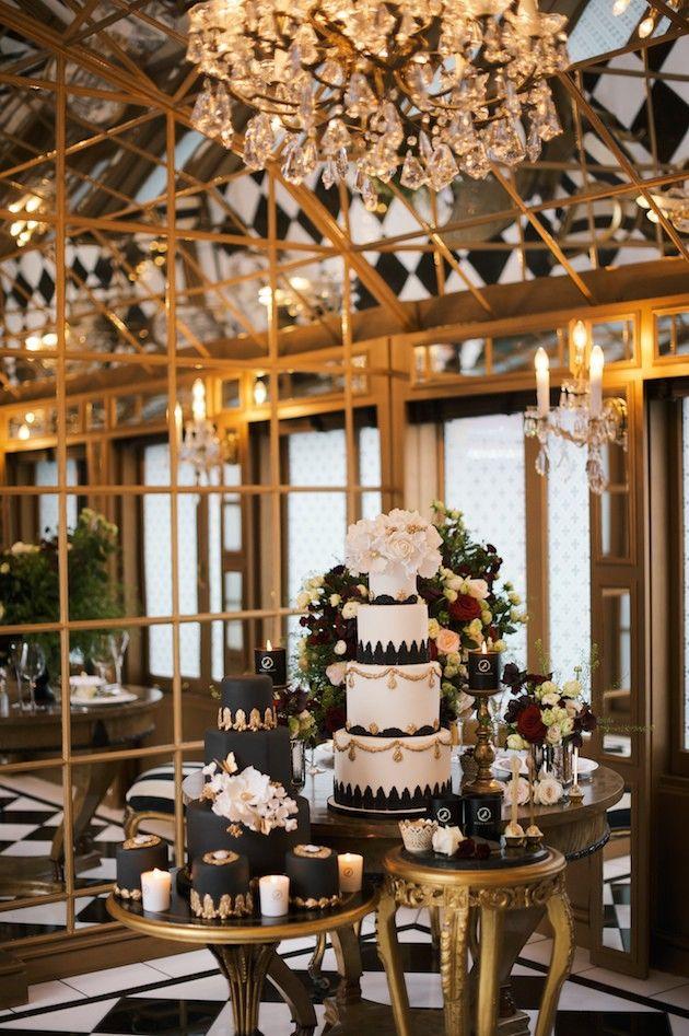 Luxurious Black & Gold Wedding Inspiration | Kate Nielen Photography | Bridal Musings Wedding Blog 14
