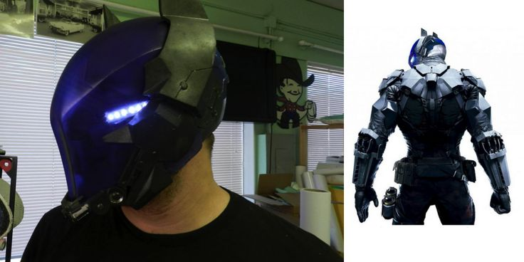 Incredible 3D Printed 'Batman: Arkham Knight' Suit Debuts in Anticipation of New Video Game http://3dprint.com/74728/batman-arkham-knight-suit/