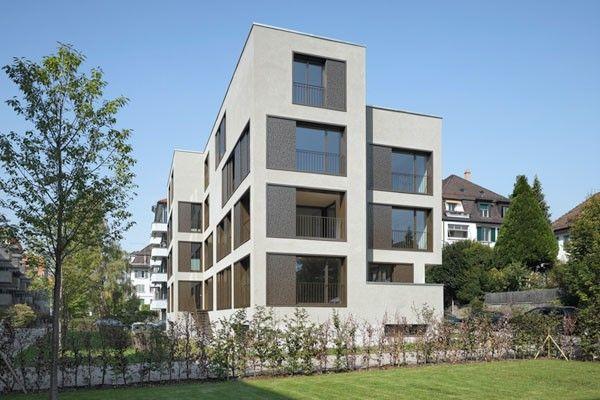 Mehrfamilienhaus Haldenstrasse, Zürich, 2011 $#$Foto: Roger Frei