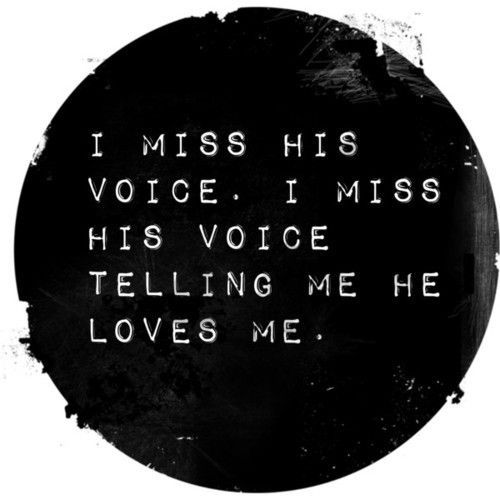 ...and I will continue to miss it until I see you in heaven.  I wonder if you will sound the same.  I'd recognize YOUR voice amid millions of voices.