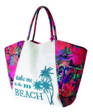 New product 'Aruba Beach Bag' added to Orinet independent Oriflame Consultants! - £0.00 - 29475 - Tropical print beach bag in polyester canvas inspired by the on-trend basket shape. Mesh bottom feature with zip, so …