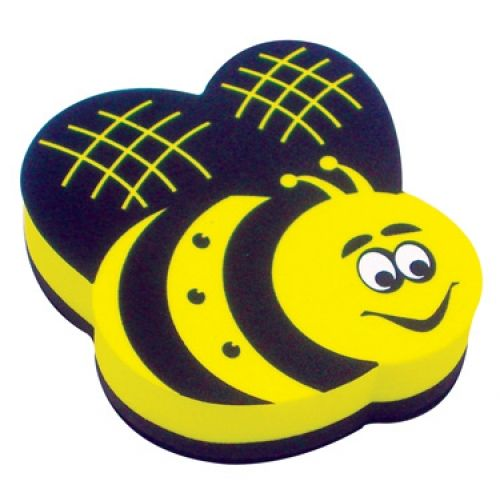 Magnetic Whiteboard Erasers, Bee, ASH10019