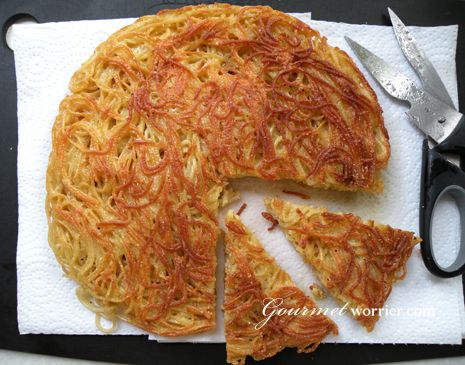Spaghetti Omelette but i do not use cumin at all and i can use dry parsley instead of fresh
