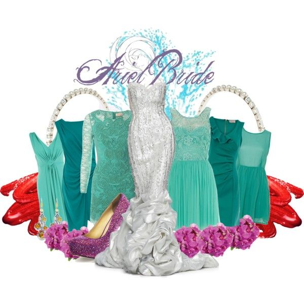 Ariel Disney Wedding-Themed Dresses – fashion dresses