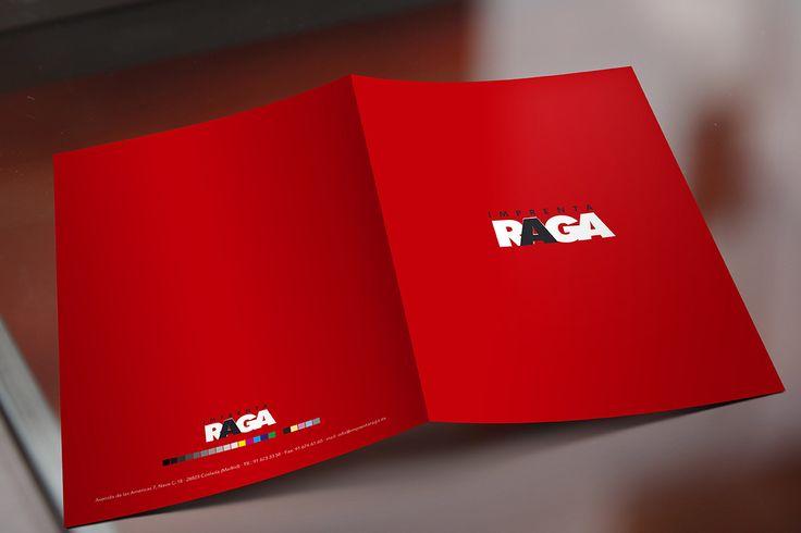 Logo para la imprenta RAGA