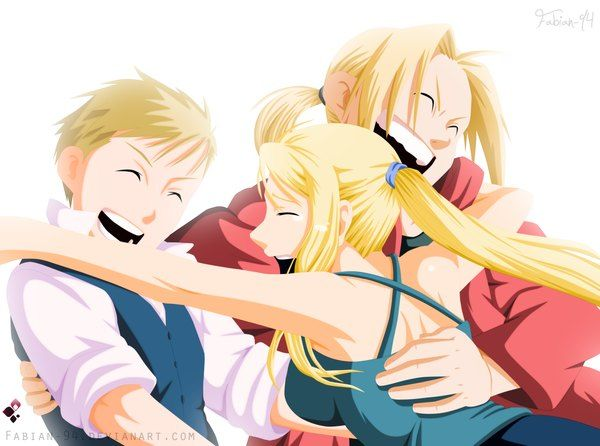 blonde den winry and - photo #11