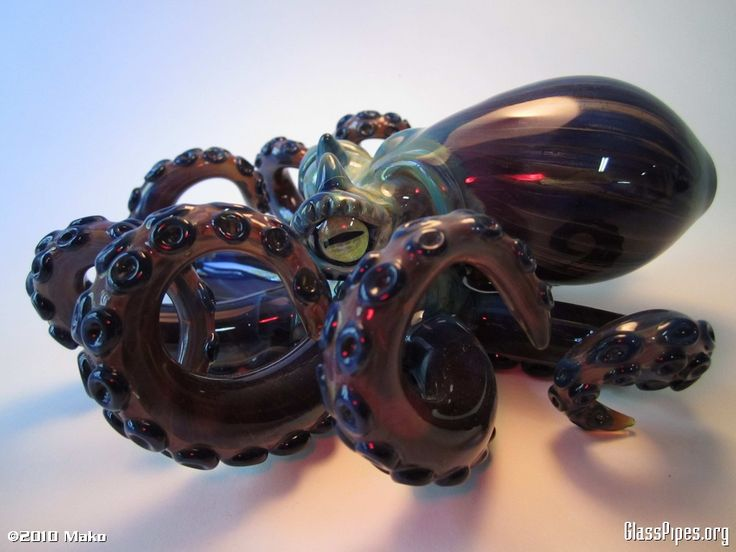 octopus glass pipe