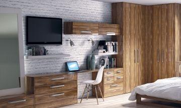 Ultragloss Brown Bedroom Doors