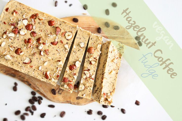Vegan Hazelnut Coffee Frudge (made with chickpeas!)