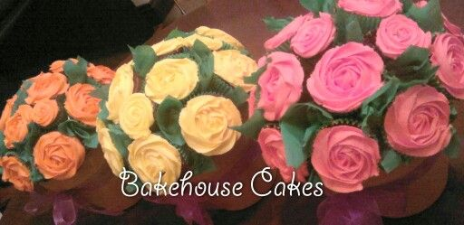 Cupcake Rose Bouquet s
