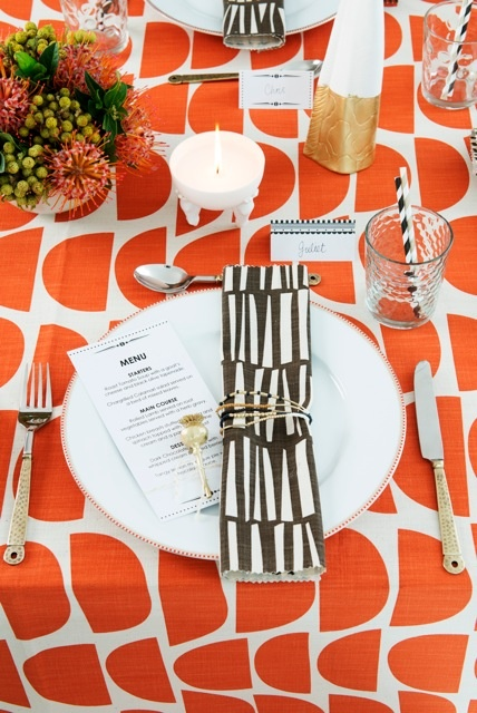 African Theme party! Using our Monochrome Magic Invitations