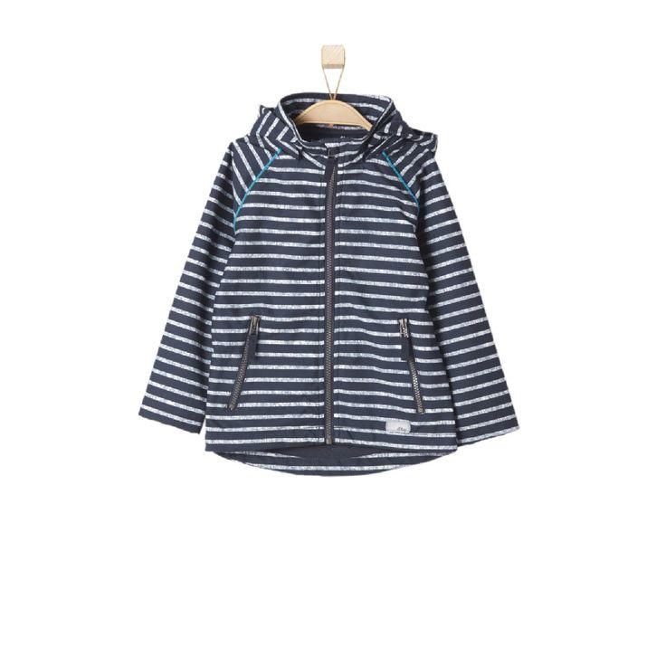 s.OLIVER Boys Softshelljacke blue stripes