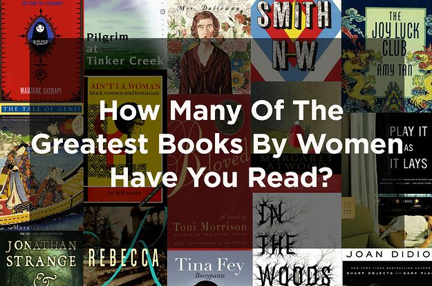 See where you land among 102 of the best female-penned books.