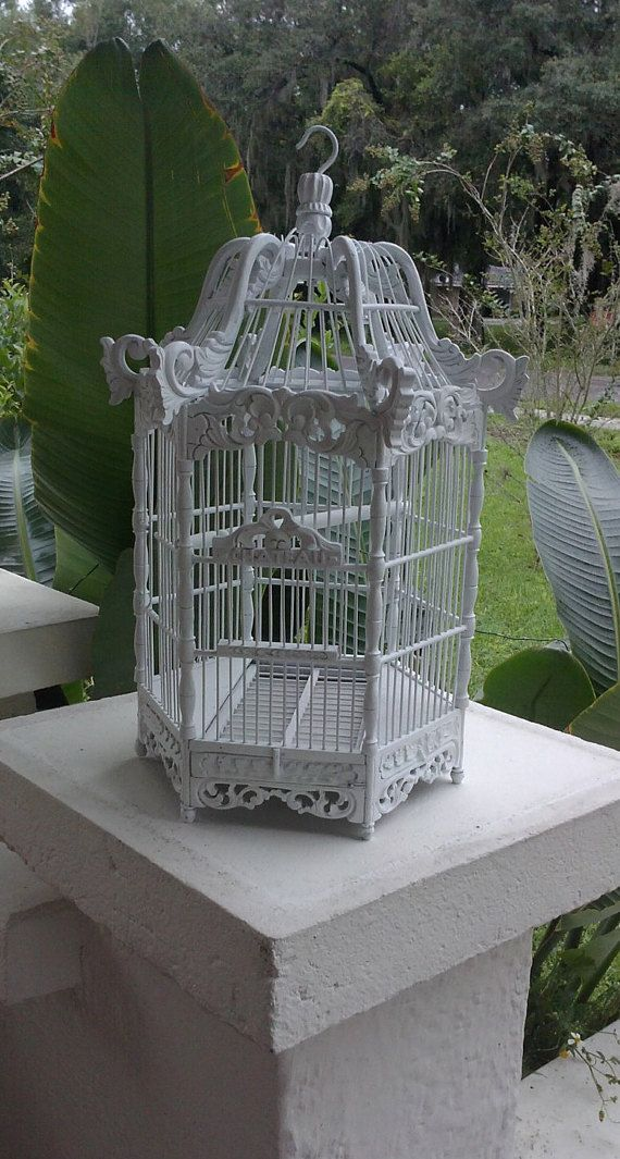 Charming ornate decorative Bird Cage for your by InteriorCosmos1