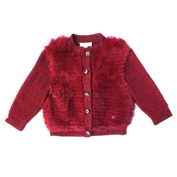 Una dintre preferatele sezonului, aceasta geaca reuneste cu succes segmente tricotate si blanita naturala. Ti se face cald numai utandu-te la ea! Ext: 100%Angora; Ext: 70%Poliester 30%Wool; Captuseala: 100%Poliester;