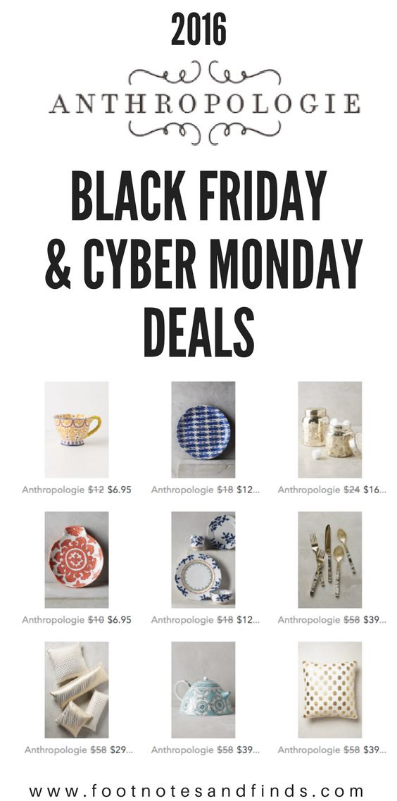 anthropologie black friday 2016 & cyber monday deals