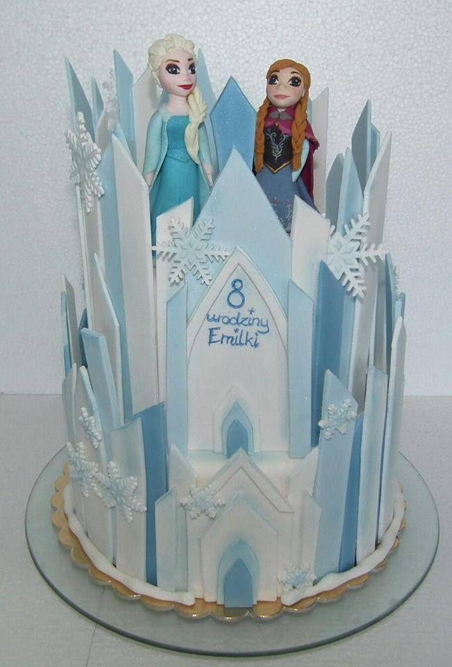 Tort Kraina lodu/ Frozen cake, Elsa cake