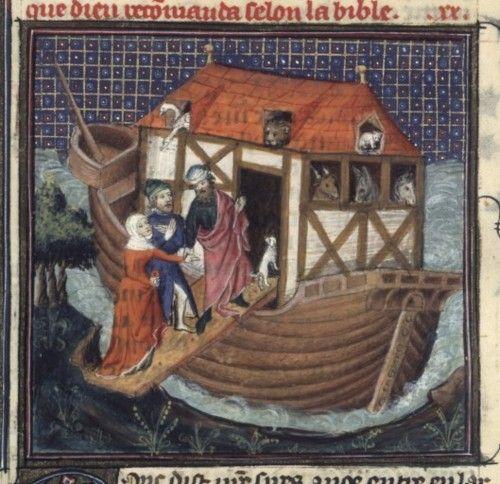 Bibliothèque nationale de France, Français 159. Bible historiale, 14th-15th century.