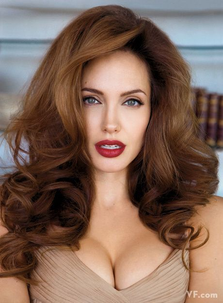 Angelina Jolie. Always my favorite.  Her beauty and her will to help the world makes me love her all the more.
