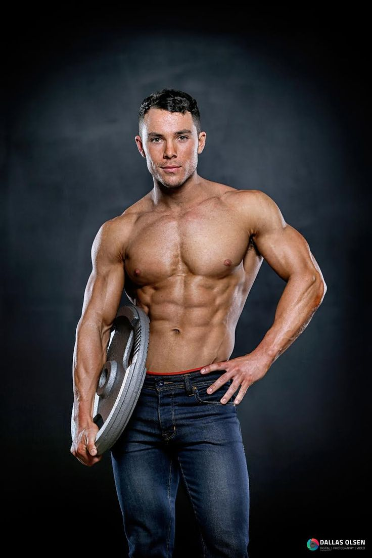 Strong, sexy and soft our fitness model Zac is here to serve you.