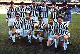 Juventus Football Club 1993-1994.