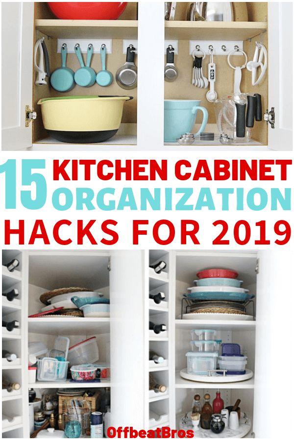 15 mind blowing ways to organize kitchen cabinets kitchen cabinet organization kitchen on kitchen counter organization id=64302
