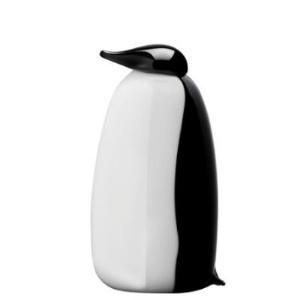 iittala Toikka Pang Penguin - Gray / Black