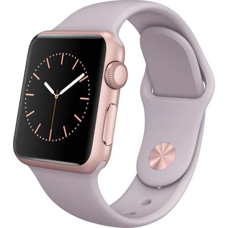 Genuine Apple Watch Sport 38mm ROSE GOLD Aluminum PINK Band MLCH2LL