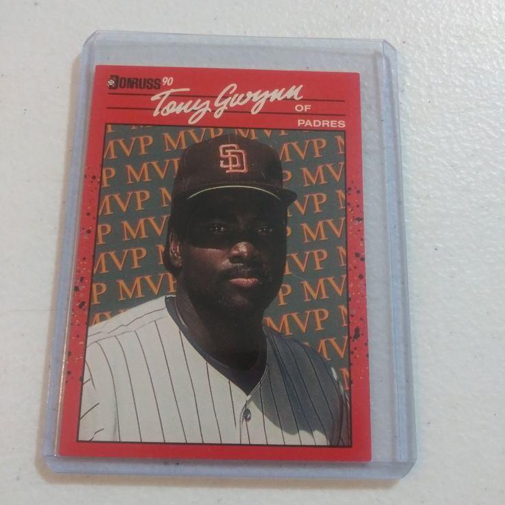 Rare 1989 Tony Gwynn MVP Donruss Baseball Card in 2020