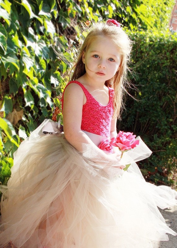 Girls Custom Order Hand Crochet Tutu Dress (size 2 to 6). $100.00, via Etsy.