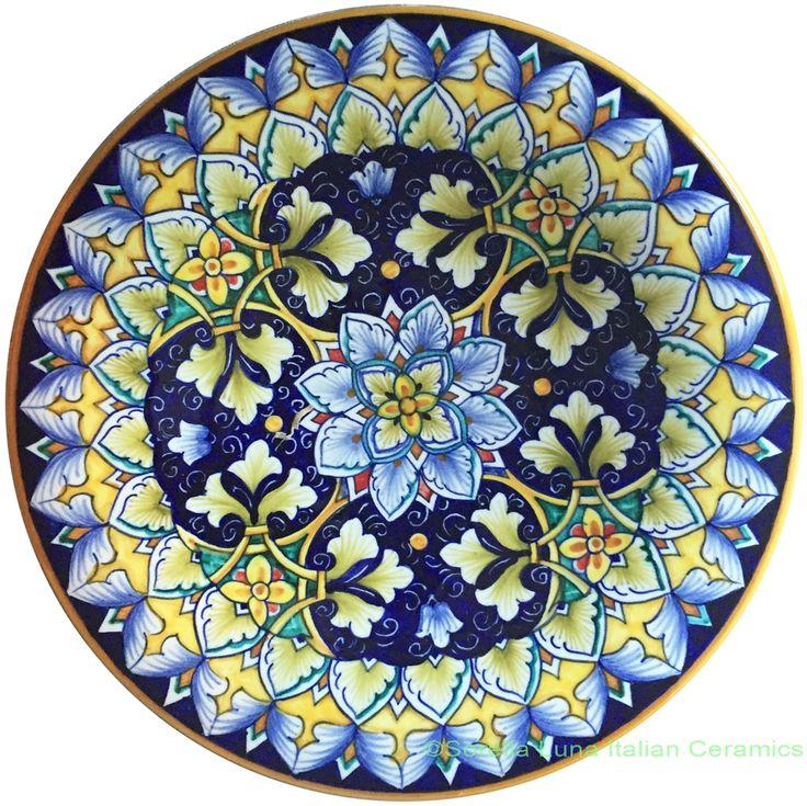 25 Unique Painted Ceramic Plates Ideas On Pinterest