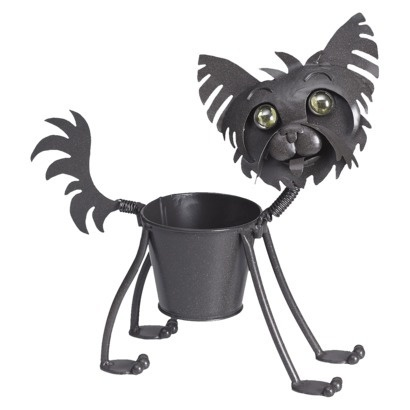 Yorkie Dog Metal Planter Big Girl Home Pinterest To Be Cats And Yorkie