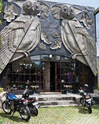 Horn Emporium, a home and fashion shop near Seminyak, Bali.