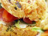 Giada's Crispy Parmesan Biscuits Recipe: Crispy Parmesan, Giada De Laurentiis, Smoked Salmon, Giada Crispy, Smoke Salmon, Salmon Sandwich, Biscuits Recipes, Parmesan Biscuits, Giada Recipes