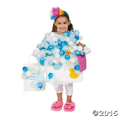 how to make fake bubbles for a costume