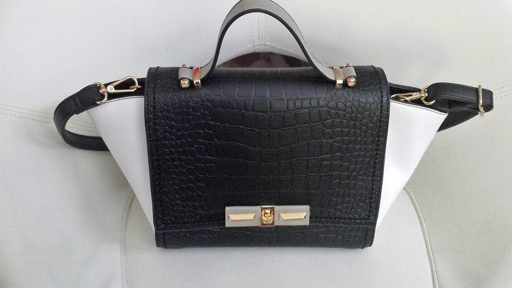 zwart/witte tas