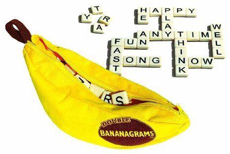 Amazon.com: Double Bananagrams Game Set - 288 tiles: Toys & Games