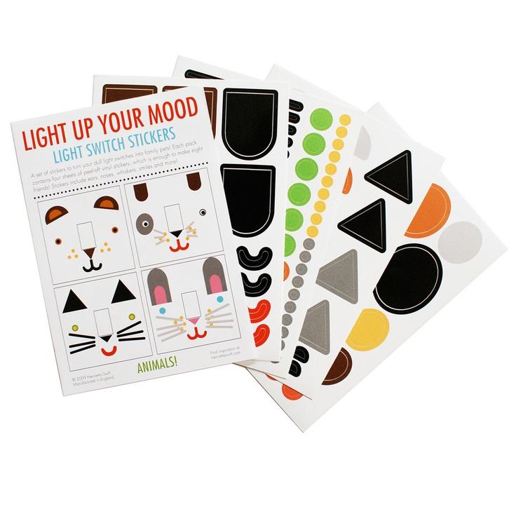 eu.Fab.com | Light Switch Stickers Animals