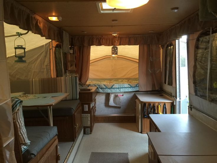 218 Best Images About Pop Up Tent Trailer Camper Ideas