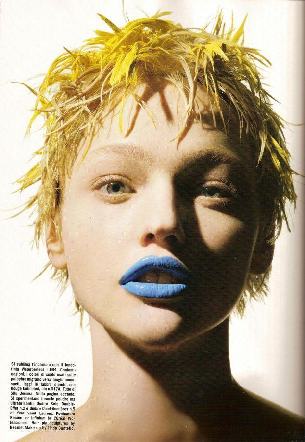 Beauty & Makeup Editorials - the Fashion Spot