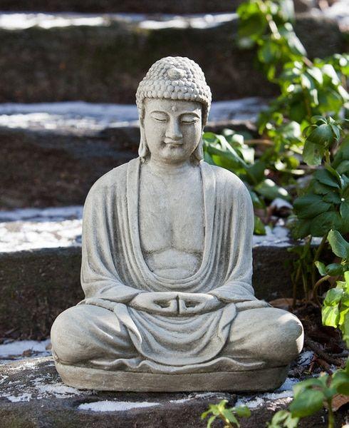Stone Buddha Garden Statue, USA