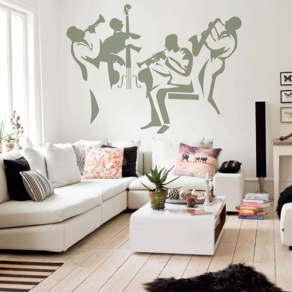 17 best images about m sica vinilos decorativos on for Vinilo decorativo musical pared