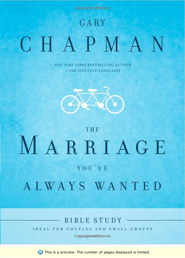 The Marriage You've Always Wanted Bible Study