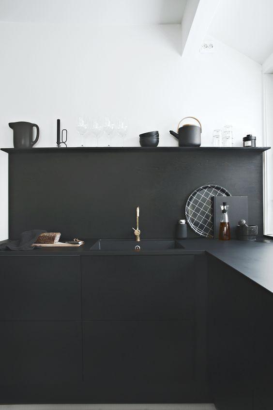 Black Interior Inspiration | SA Décor & Design Blog