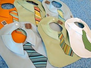 Bibs for baby boys.: Baby Boy Bibs, Shower Gifts, Gifts Ideas, Dresses Shirts, Baby Boys, Ties Bibs, Baby Bibs, Boys Bibs, Boys Baby
