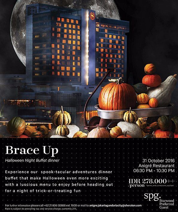 """This #Halloween we present you a spook-tacular dinner buffet at Anigré Restaurant. Gather round with your loved ones. Be ready for the luscious """"Trick or Treats"""" adventure."""