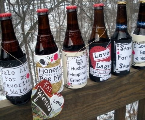 valentine's+beer+labels